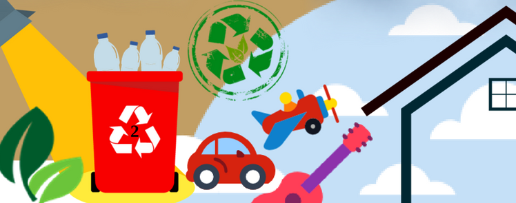 What products can be made from recycled HDPE plastic